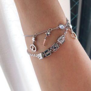 Vintage Christian Dior cube bracelet